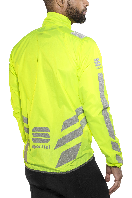 945aa923 Sportful Reflex Jakke Herrer, yellow fluo   Find cykeltilbehør på ...